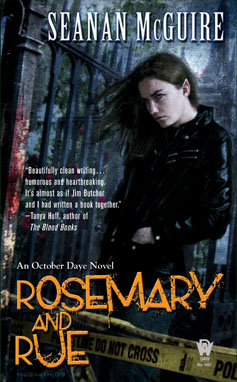 Rosemary and Rue, October Day 1
